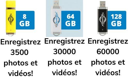Le Photostick - Sauvegarde Facile Et Sécurisée De Toutes Vos Photos Et Vidéos Sur Votre Téléphone Ou Votre Ordinateur 1
